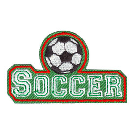 S-4071 Soccer Patch