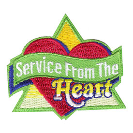 S-4073 Service From The Heart Patch