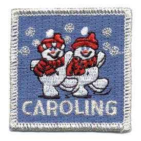 S-0313 Caroling (Snowmen) Patch