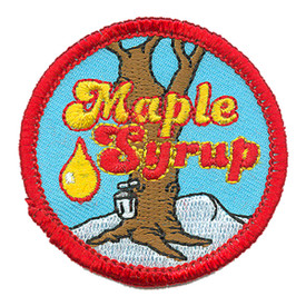 S-4077 Maple Syrup Patch