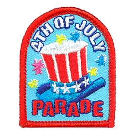 S-4080 4th Of July Parade Patch