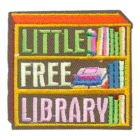 S-4085 Little Free Library Patch
