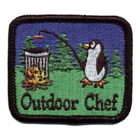 S-0316 Outdoor Chef Patch