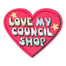 S-4090 Love My Council Shop Patch