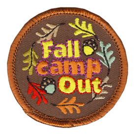 S-4093 Fall Camp Out Patch