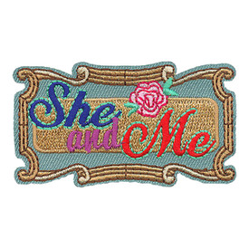 S-4094 She And Me Patch