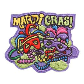 S-4095 Mardi Gras Patch