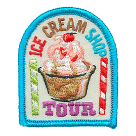 S-4098 Ice Cream Shop Tour Patch