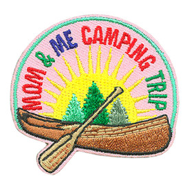S-4106 Mom & Me Camping Trip Patch