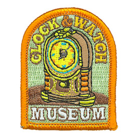 S-4109 Clock & Watch Museum Patch