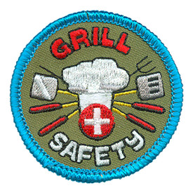 S-4111 Grill Safety Patch