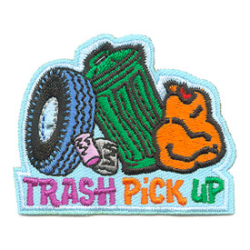 S-4113 Trash Pick Up Patch