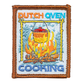 S-4114 Dutch Oven Cooking Patch