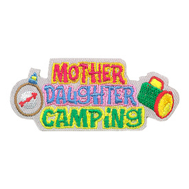 S-4115 Mother Daughter Camping Patch