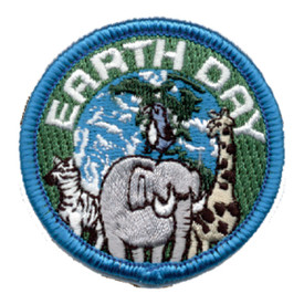 S-0320 Earth Day - Jungle Patch