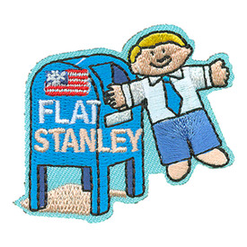 S-4118 Flat Stanley Patch