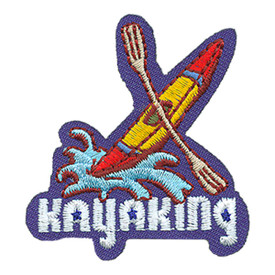 S-4122 Kayaking Patch