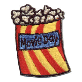 S-0321 Movie Day (Popcorn) Patch