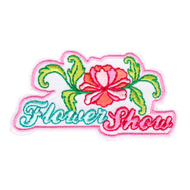 S-4132 Flower Show Patch