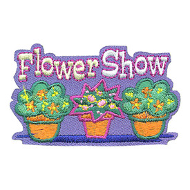 S-4138 Flower Show Patch
