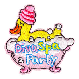 S-4141 Diva Spa Party Patch