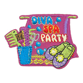 S-4149 Diva Spa Party Patch