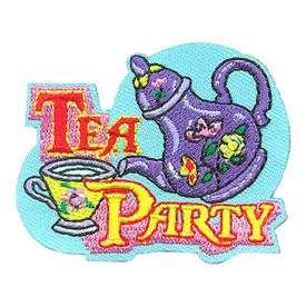 S-4153 Tea Party Patch