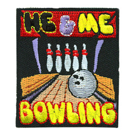 S-4155 He & Me Bowling Patch