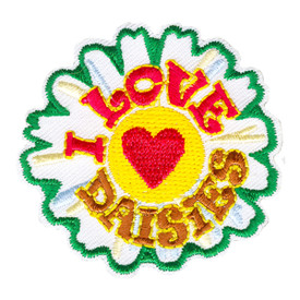 S-4156 I Love Daisies Patch