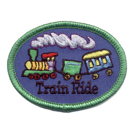 S-0326 Train Ride Patch
