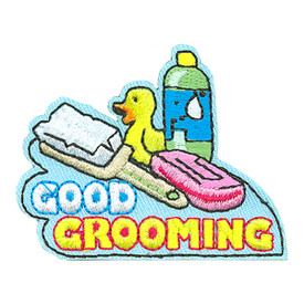 S-4160 Good Grooming Patch
