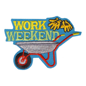 S-4161 Work Weekend Patch