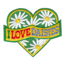S-4164 I Love Daisies Patch