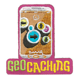 S-4167 Geocaching Patch