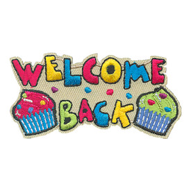 S-4171 Welcome Back Patch