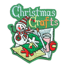 S-4178 Christmas Crafts Patch