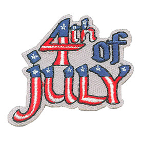 S-4179 4th Of July Patch