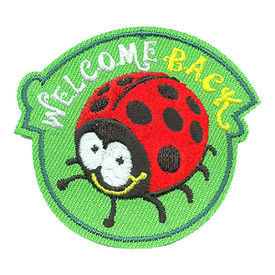 S-4181 Welcome Back Patch