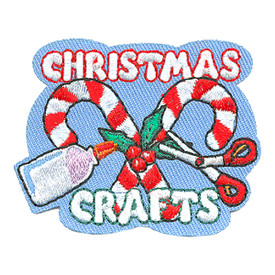 S-4183 Christmas Crafts Patch