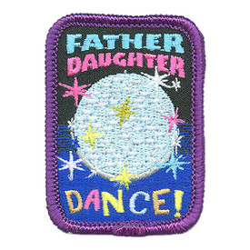 S-4184 Father Daughter Dance Patch