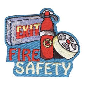 S-4188 Fire Safety Patch