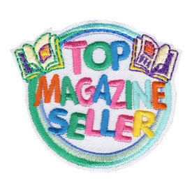 S-4195 Top Magazine Seller Patch