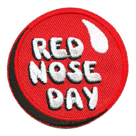 S-4198 Red Nose Day Patch