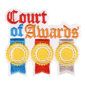 S-4202 Court Of Awards Patch