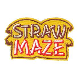 S-4204 Straw Maze Patch