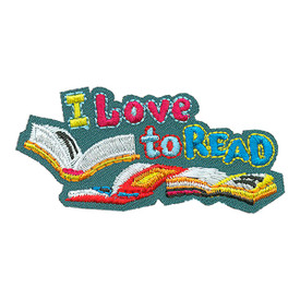 S-4206 I Love To Read Patch