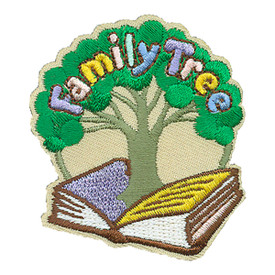 S-4207 Family Tree Patch