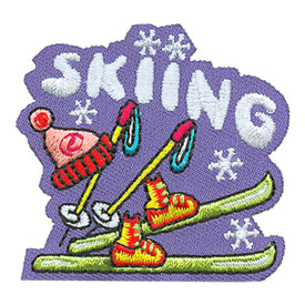 S-4209 Skiing Patch