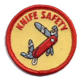 S-0333 Knife Safety Patch