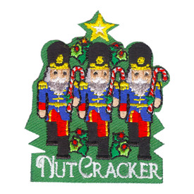 S-4216 Nut Cracker Patch